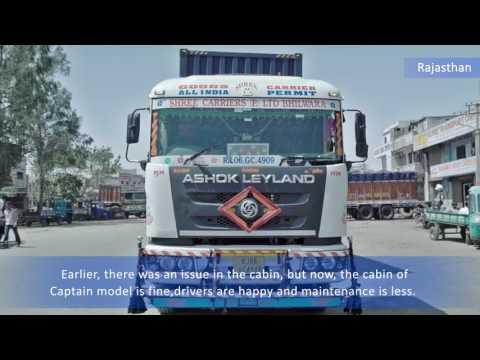 Ashok Leyland Customer Testimonial Jaipur - U4018
