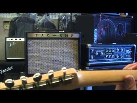 Pac Amp Model 213 Magnatone Troubadour Youtube
