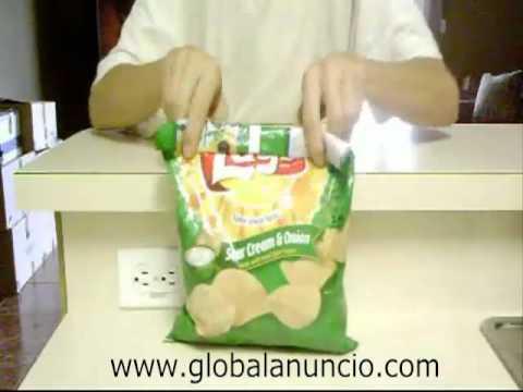 Cómo Cerrar Una Bolsa De Patatas Fritas Herméticamente Youtube