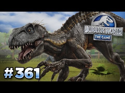 INDORAPTOR SEARCH CONTINUES!!! | Jurassic World - The Game - Ep361 HD