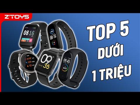 Dưới 1 triệu thì mua được smartwatch - đồng hồ thông minh nào?