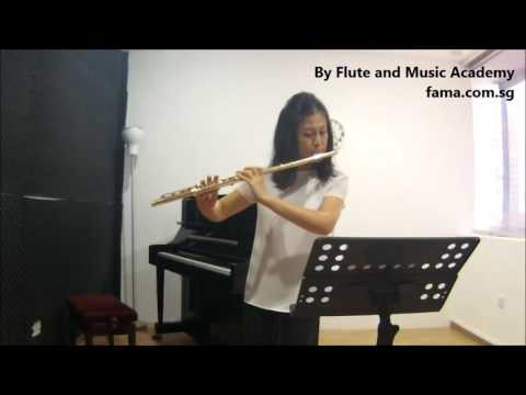 Flute ABRSM Grade 6 2014-2017, C6: Drouet's Study in A minor