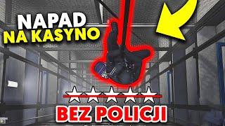 NAJLEPSZA METODA 2! *BEZ POLICJI I STRATY KASY* NAPAD NA KASYNO | GTA V