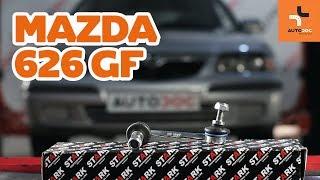 Achteras Rubbers monteren MAZDA 626 V (GF): gratis video