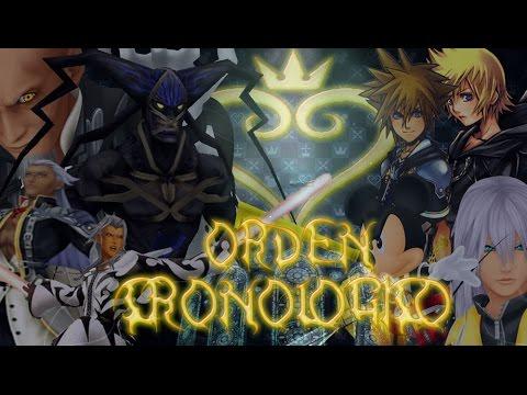 Kingdom Hearts En Que Orden Juego A La Saga Cronologia Youtube