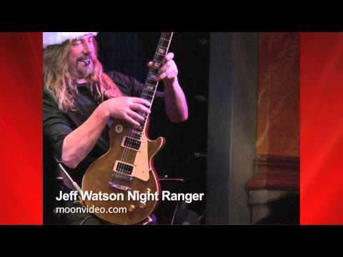 Jeff Watson- Night Ranger Plays Some Guitar Licks