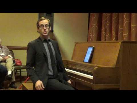 The Music of Tom Brier set, Kylan deGhetaldi, West Coast Ragtime Festival 2016