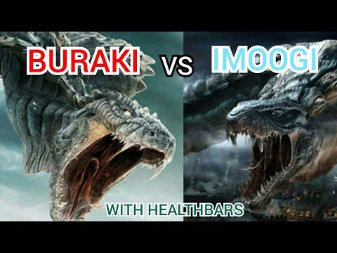 Buraki Vs Imoogi With Healthbars (Part 1)
