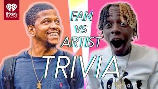 Soulja Boy Goes Head to Head With His Biggest Fan!   Fan Vs Artist Trivia