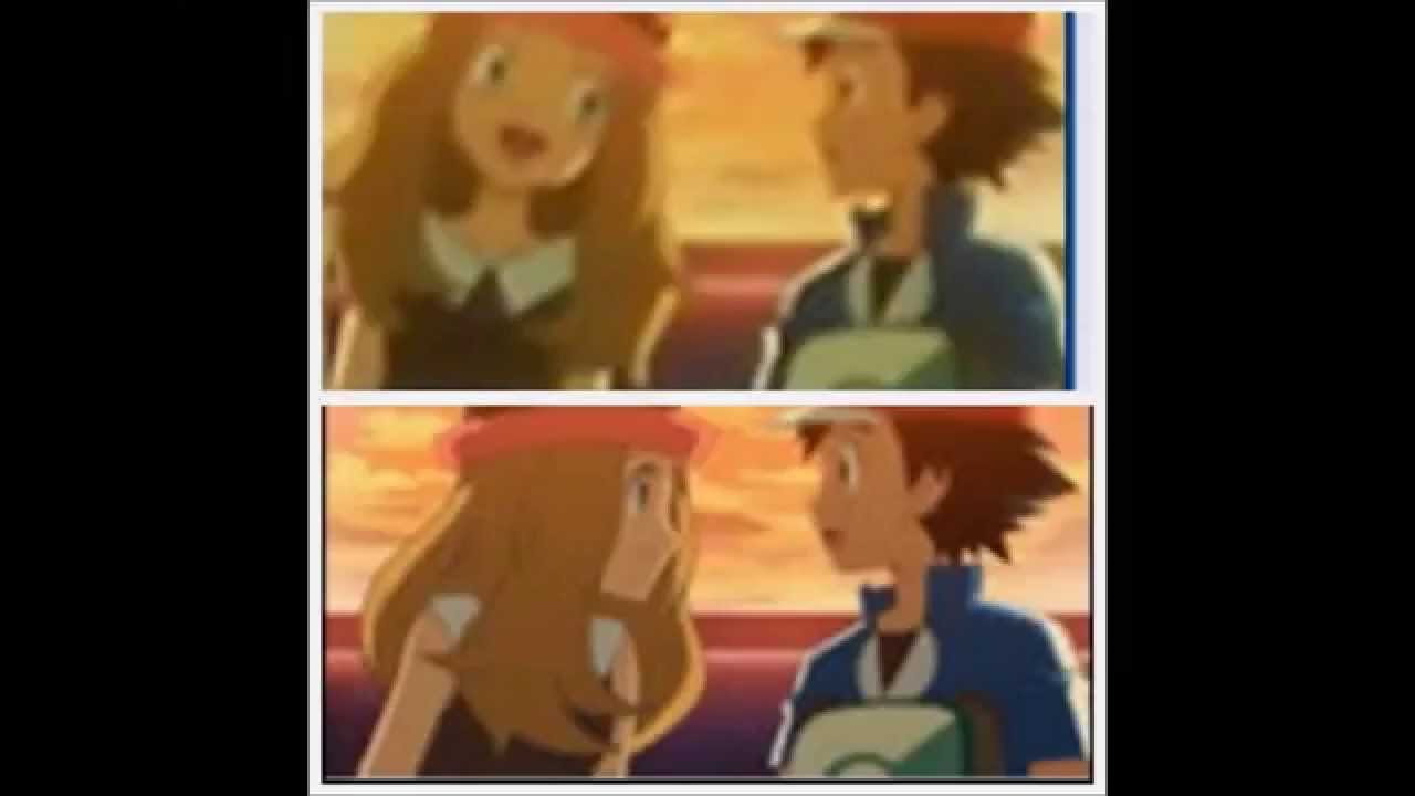 Ash and serena dating