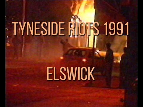 Tyneside Riots   Elswick 1991