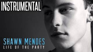 Shawn Mendes - Life of the Party (Instrumental & Lyrics)