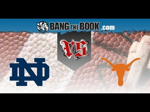 2016-09-03 No. 10 Notre Dame at Texas No Huddle