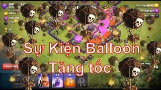 Nkok_mt clash of clans NMT | Clash of clans | Sự kiện Baloon Tăng t...