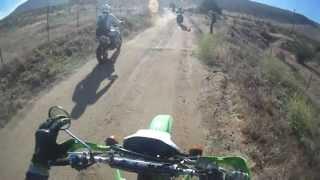 Klx250s Santa Ysabel Truck Trail Pt 1