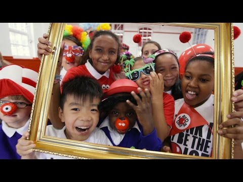 Making Funny Faces! - Red Nose Day 2015 Schools' Song (OFFICIAL VIDEO)