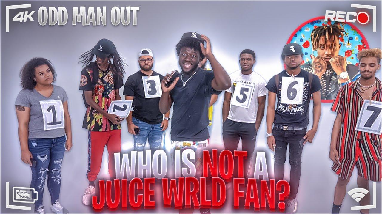 6 Juice WRLD Fans Vs 1 Fake Juice WRLD Fan | Odd Man Out | #jubliee