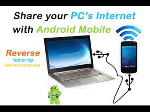 HOW TO REVERSE USB TETHER ANDROID 100% WORKING SHARE PC INTERNET WITH YOUR ANDROID VIA USB