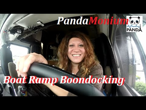 Boat Ramp Boondocking In Massachusetts - RV Living Vlog