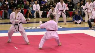 2011 WSKA World Shotokan Championships Chicago- video edited by Diana