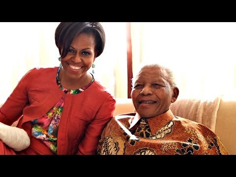 Michelle Obama's Tribute to Nelson Mandela