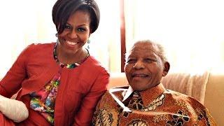 Michelle Obama's Tribute to Nelson Mandela