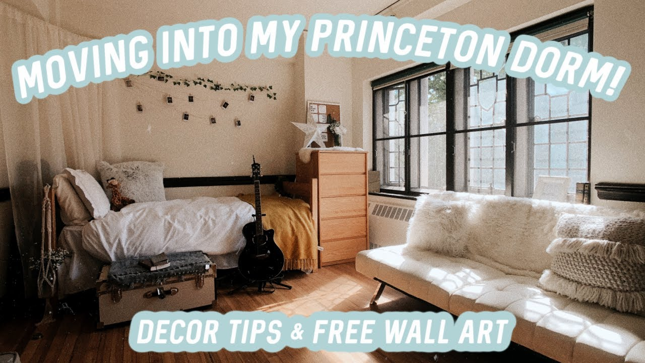 Download moving into my PRINCETON DORM!?!