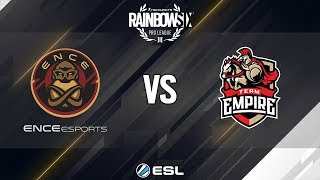 Rainbow Six Pro League - Season 9 - EU - ENCE eSports vs. Team Empire - Week 1