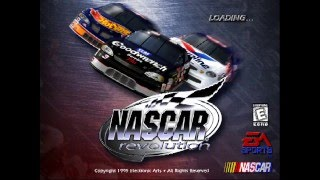 NASCAR Revolution PC test video #1 (REAL VIDEO GAMEPLAY)