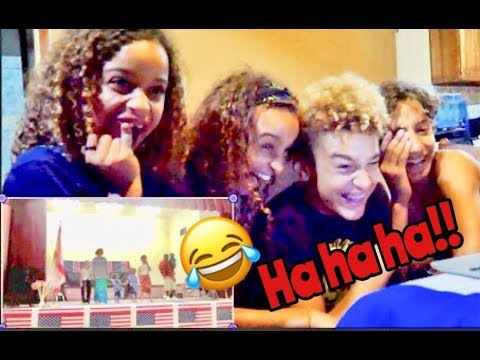 REACTING to FUNNY HOME MOVIES