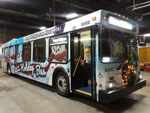 Quick Tour of MTA Maryland Holiday Bus