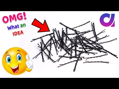 WOW !! Best out of waste hair pins craft idea /cool craft IDEA | best way to reuse  | Artkala