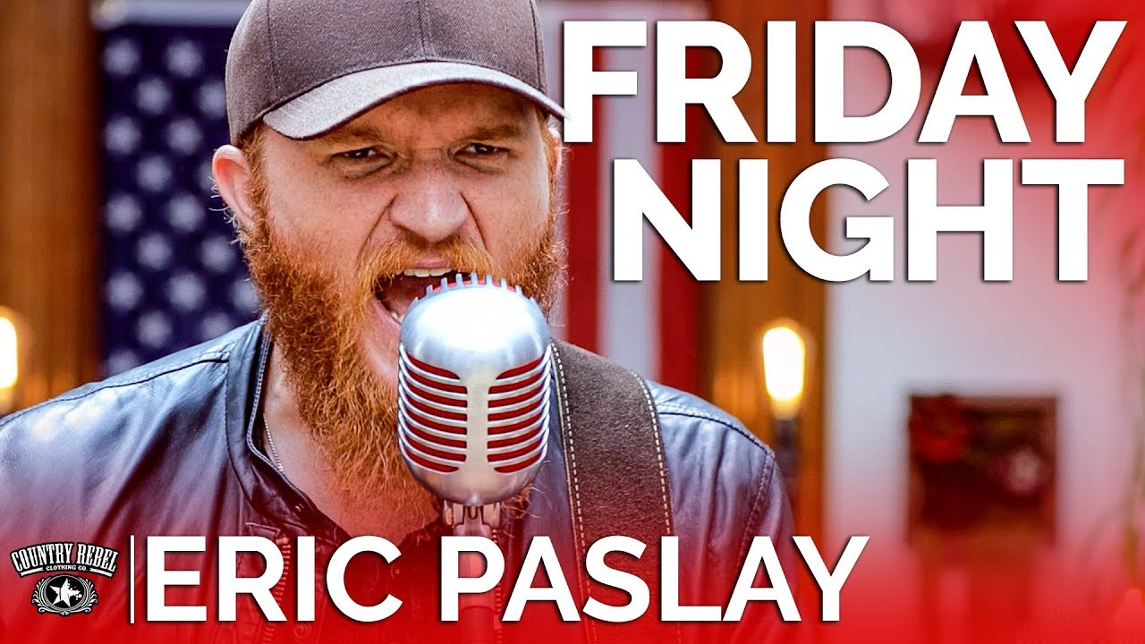Eric Paslay — Friday Night (Acoustic) // Country Rebel HQ Session