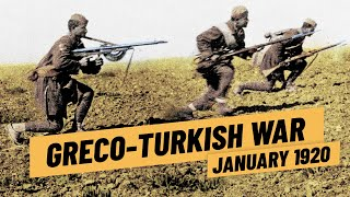 The Greco-Turkish War & The Turkish War Of Independence - First Phase 1919 I THE GREAT WAR 1920