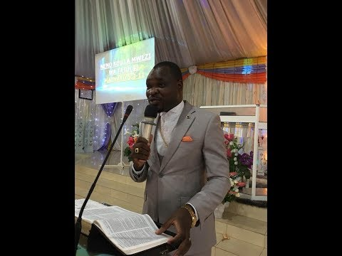 LIVE: 18-3-2018: Bishop Hilten N'gandu From Zambia Preaching Live at Jesus Power Miracle Centre
