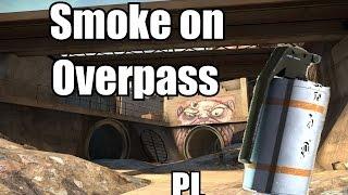 CS GO Taktycznie: Smoke na overpass'ie | Jak rzucać granaty w TT na overpassie