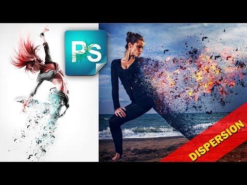 Эффект распада в Фотошоп. Создаем дисперсию с пеплом и углями