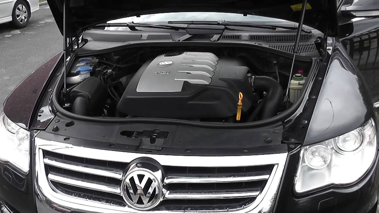 vw touareg hd 2 5 r5 tdi 174 ps engine sound youtube. Black Bedroom Furniture Sets. Home Design Ideas