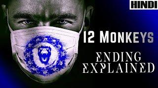 12 Monkeys 1995 Explained in HINDI | Ending Explained | Sci-fi |