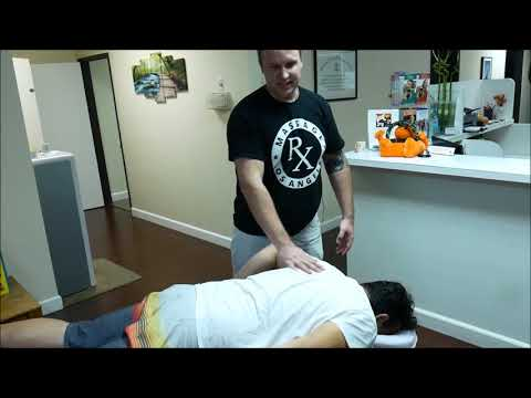 Massage Rx  Hip and lower back pain manual therapy