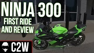 Ninja 300 - First Ride and Review
