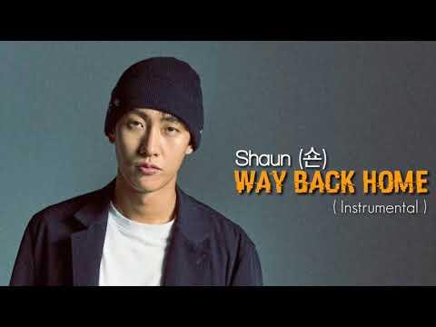 Shaun (숀) - WAY BACK HOME ( Instrumental) | BEAT
