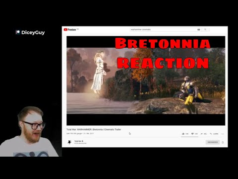 Total War: WARHAMMER | Bretonnia | Cinematic Trailer || REACTION |