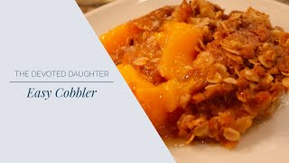 How to Make the Easiest Cobbler
