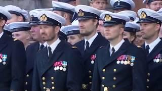 Forsvarschefen taler til paraden