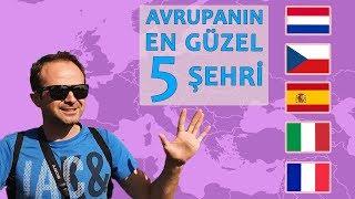 Avrupa'nın En İyi 5 Şehri