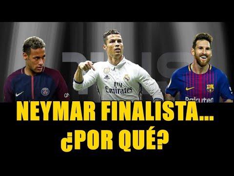 MESSI, CRISTIANO RONALDO Y... ¿NEYMAR? LOS 3 FINALISTAS EN EL THE BEST FIFA