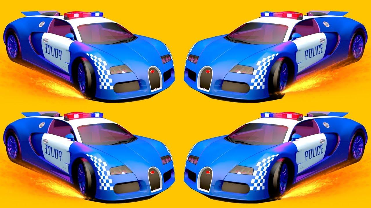 Mobil Polisi Anak Kecil Mobil Polisi Mainan Anak Kartun Mobil Full 25 Menit Anak Mobil Edukasi