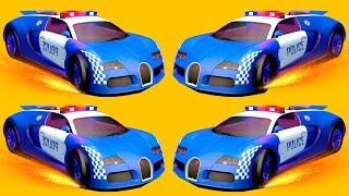 Mobil polisi anak kecil Mobil polisi Mainan anak. Kartun Mobil full 25 menit. Anak Mobil edukasi.