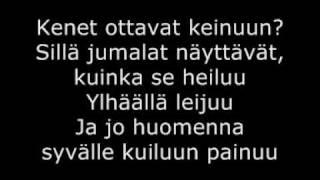 Mariska - Keinu (with lyrics)